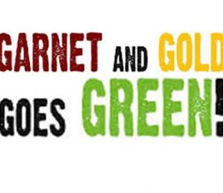 Garnet and Gold Goes Green