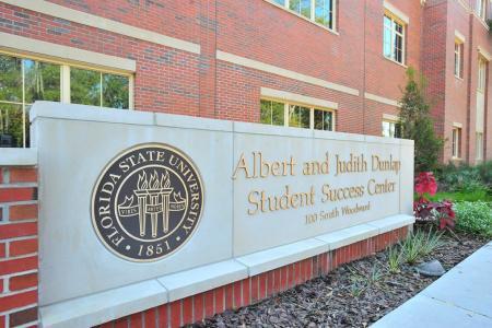 Dunlap student success center sign
